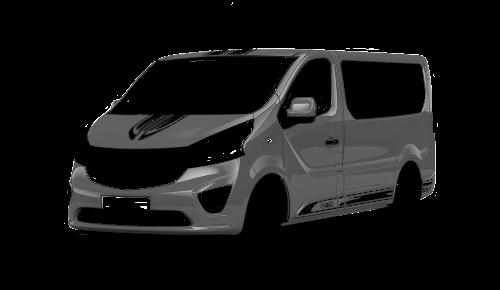 Цвета кузова Vivaro Sport Combi